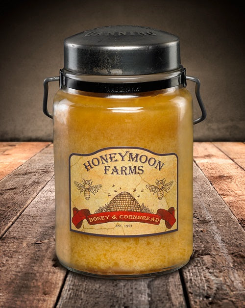 HONEY and CORNBREAD Classic Jar Candle-26oz