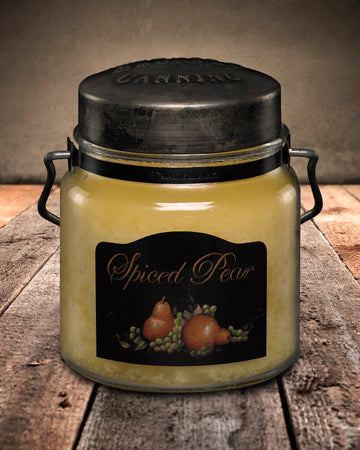 SPICED PEAR Classic Jar Candle-16oz