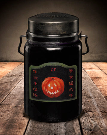 TRICK OR TREAT Classic Jar Candle-26oz