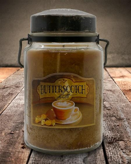 BUTTERSCOTCH LATTE Classic Jar Candle-26oz