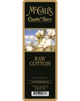 RAW COTTON Candle Bars-5.5 oz Pack