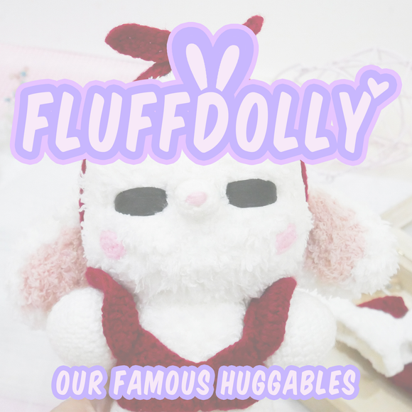 FluffDolly Main Logo by TheCatWithYarn