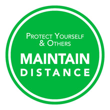 "10 "" Protect Yourself and Maintain Distance Solid"