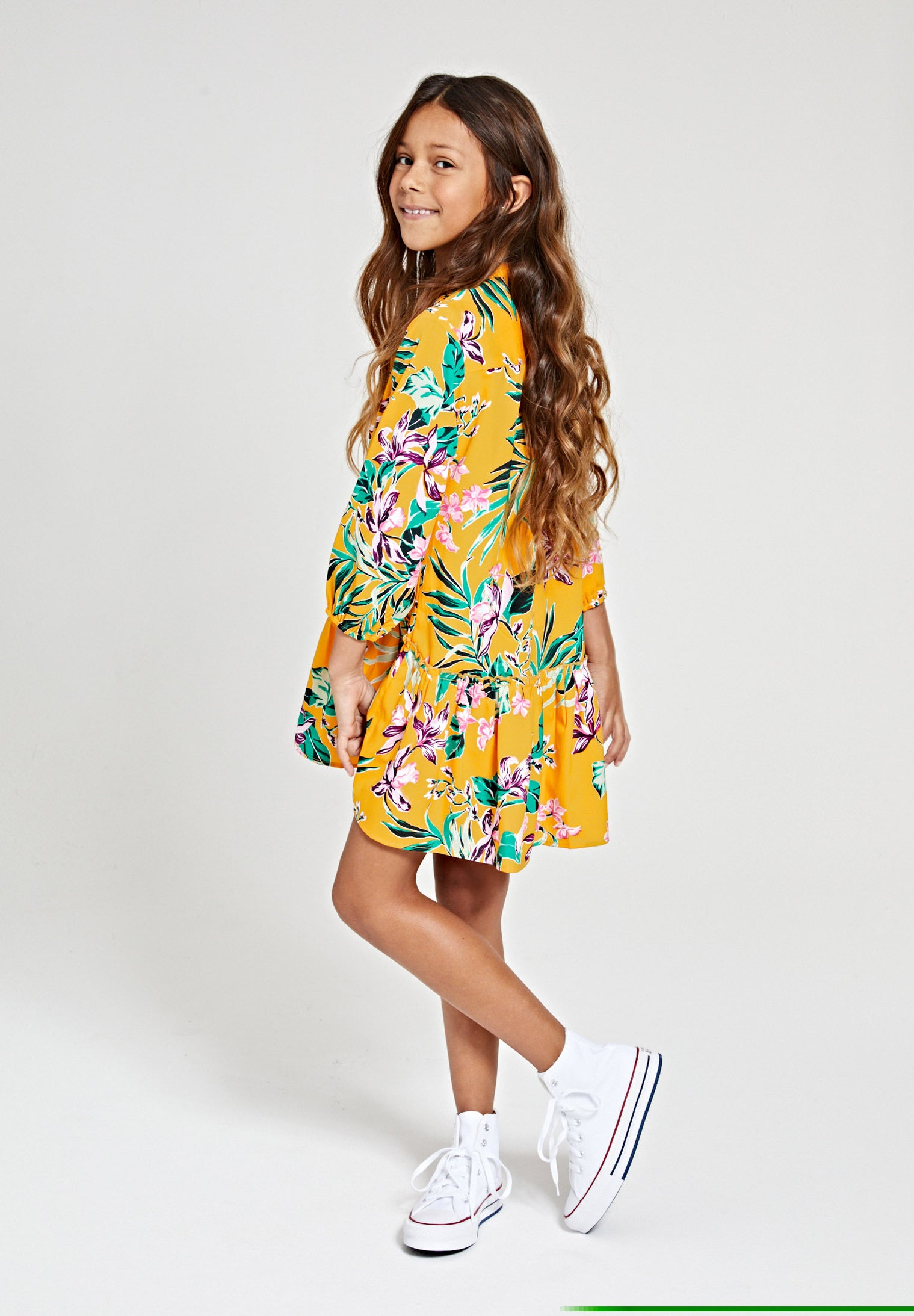 Girls waikiki drop waist dress