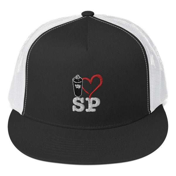 I Love St. Pete Trucker Cap