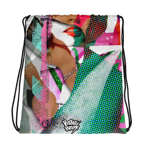 Sophia Loren Drawstring Bag