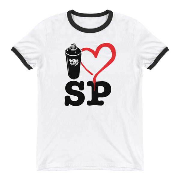 I Love St. Pete Ringer T-Shirt