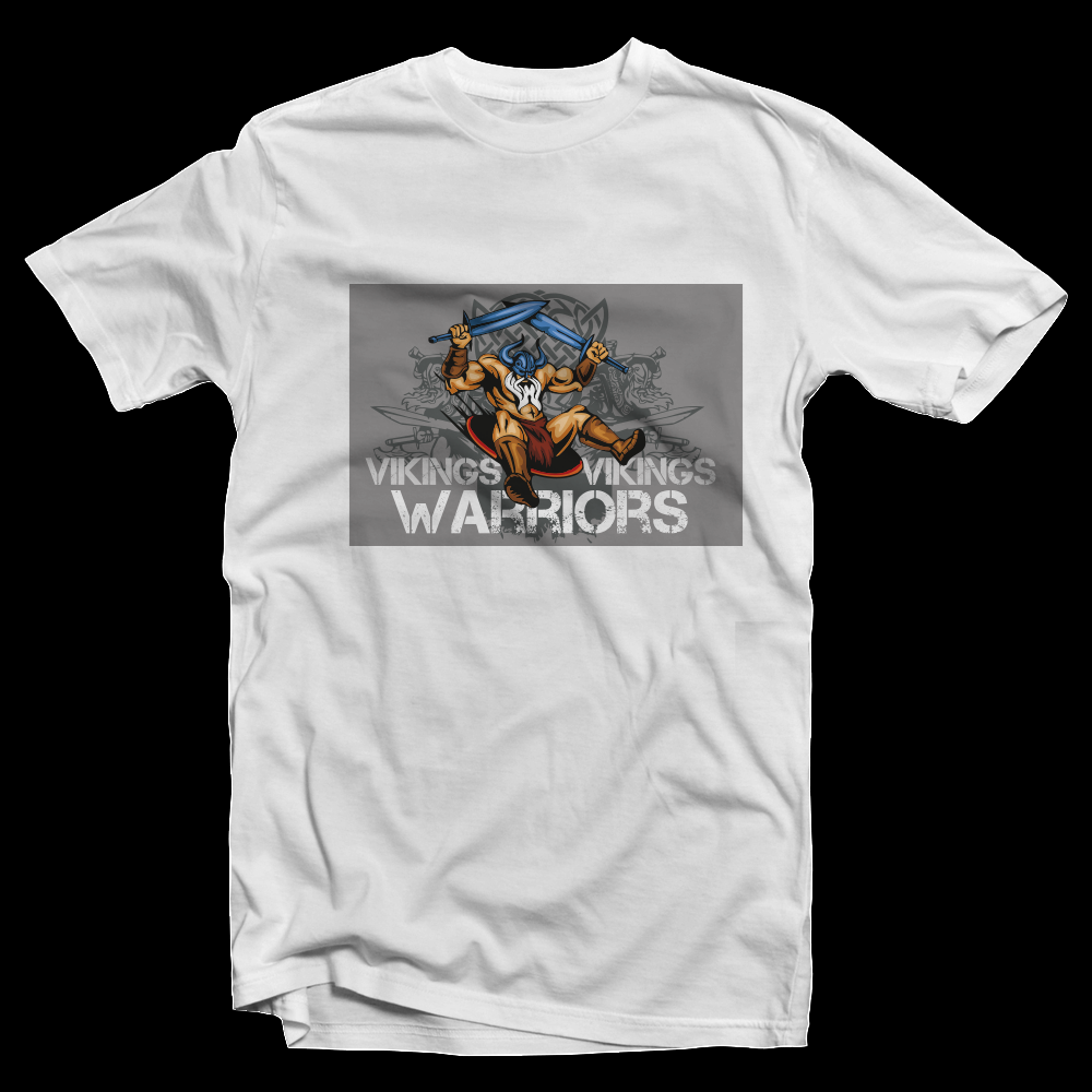 T-Shirt Grey Vikings Warriors