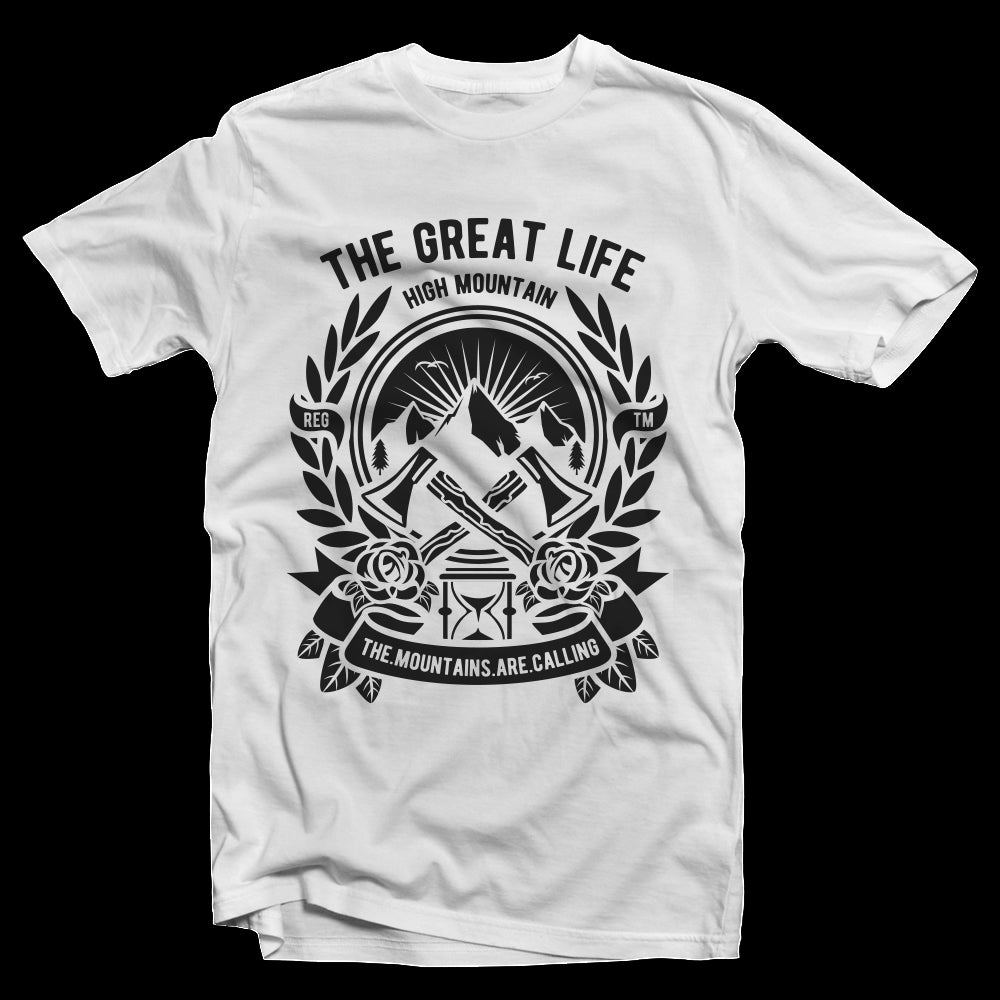 T-Shirt The Great Life