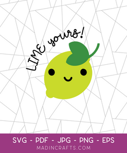 Lime Yours SVG File
