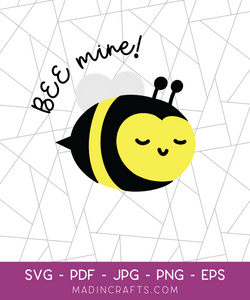 Bee Mine SVG File