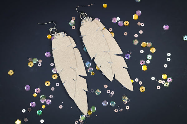 Feather Earring SVG File