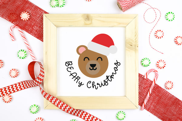 10 Punny Animal Christmas SVGs Bundle