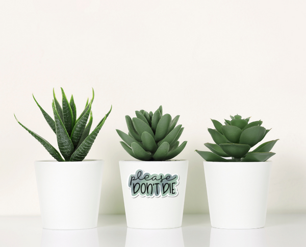 Plant Lover Printable Stickers