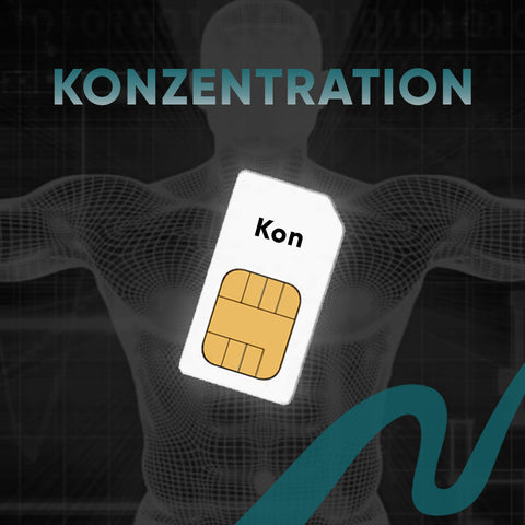 Konzentration Chipkarte