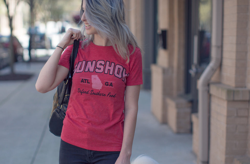 Ladies Gunshow Gameday Tee