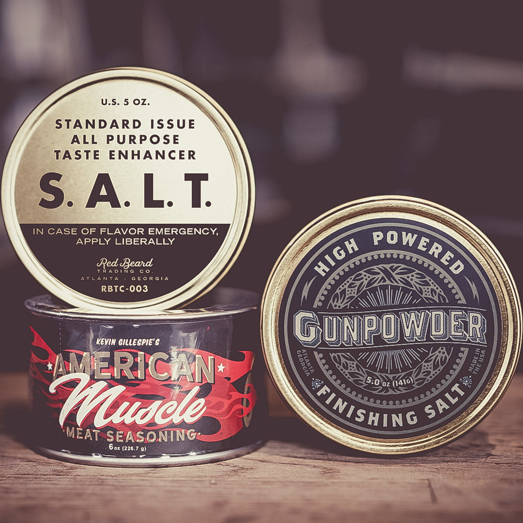 Beautiful Briny Sea + Red Beard Essentials Set