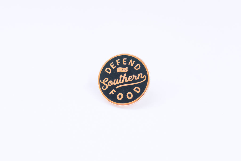 Defend Southern Food Pin