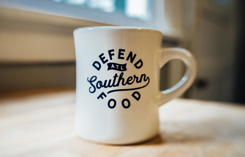 Defend Southern Food Diner Mug