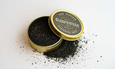 Gunpowder Finishing Salt