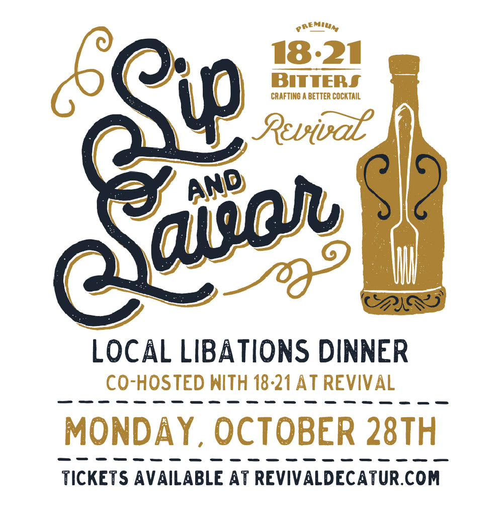 Revival 2019 Sip & Savor Dinner Series