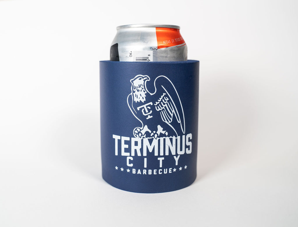 Terminus City Foam Can Coozie