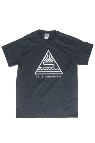 Smile T-Shirt - Large triangle logo
