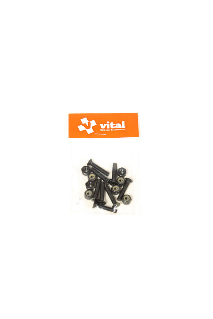 Vital Flat Head Hardware Set 1.25 inch