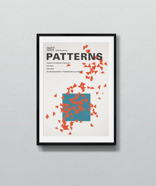 PATTERNS Poster Format A3
