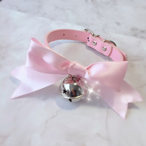 Bow Collar and Leash
