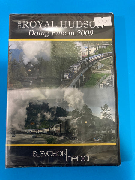 DVD video - Doing fine in 2009 Royal Hudson excursions