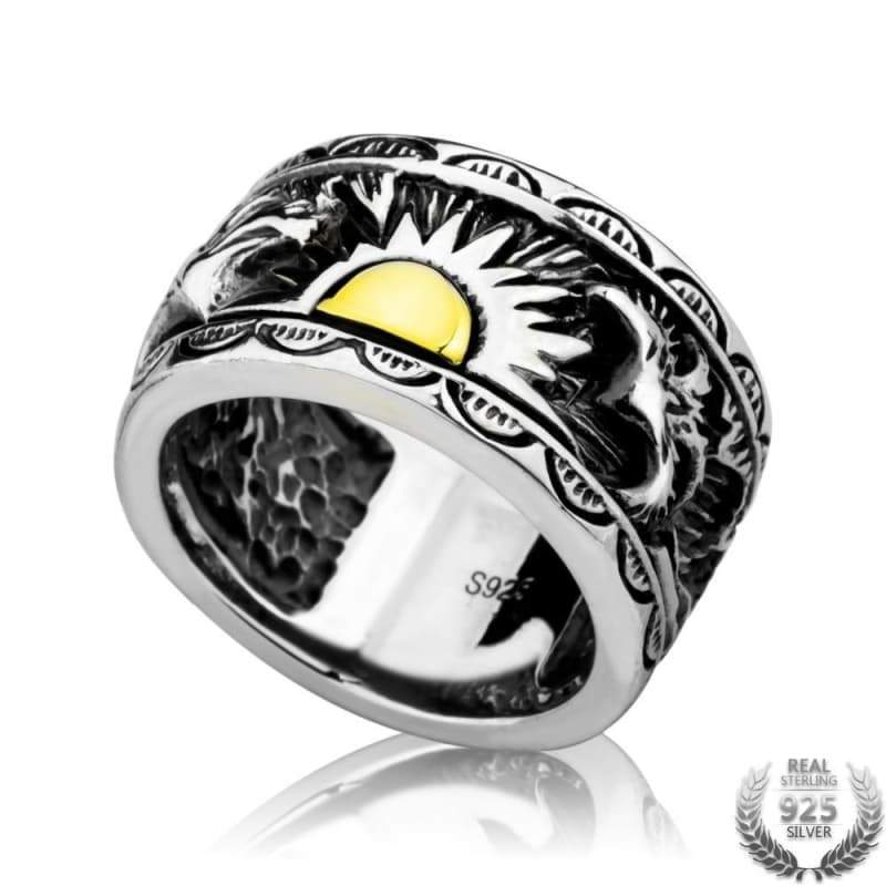 Ring steampunk king sunshine