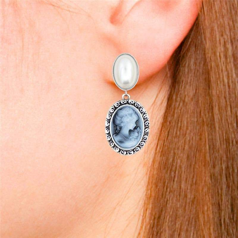 cameo earrings 2021