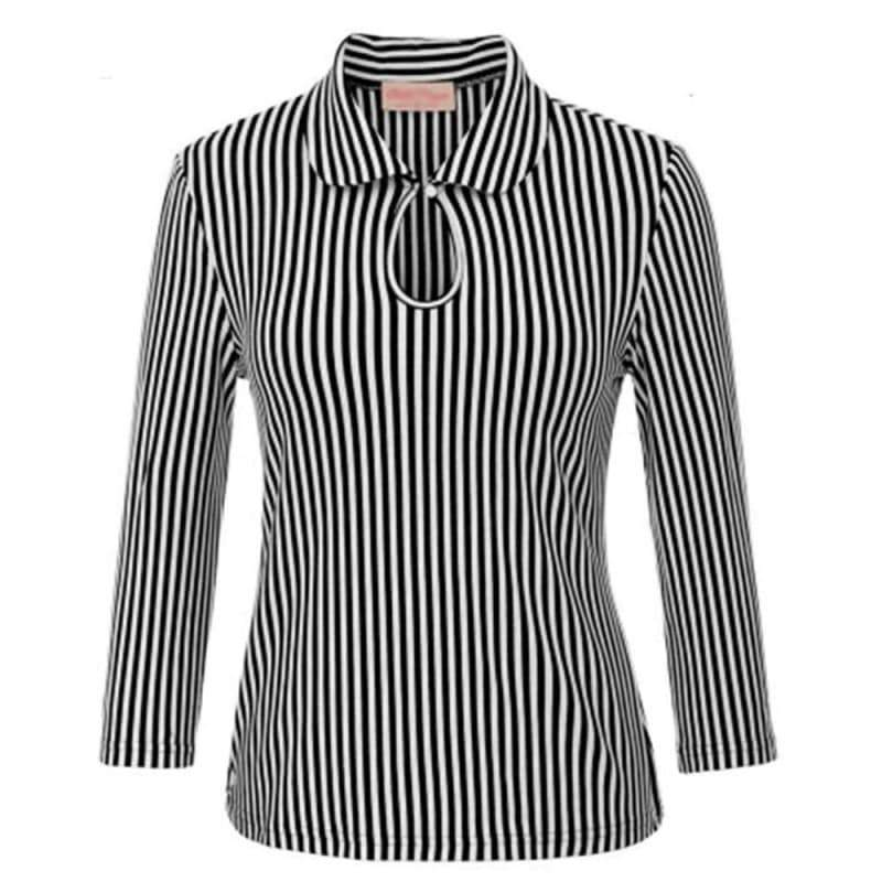 Steampunk striped shirt
