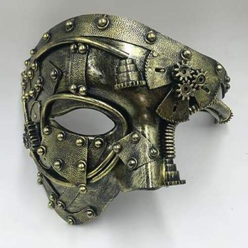 Opera ghost steampunk mask