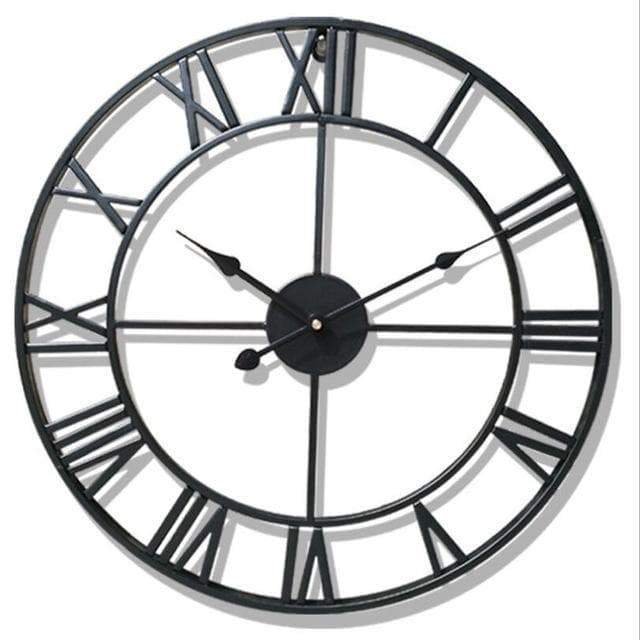 large wall clock steampunk store mode