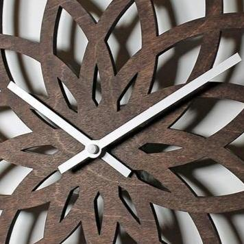 lotus wood clock renaissance