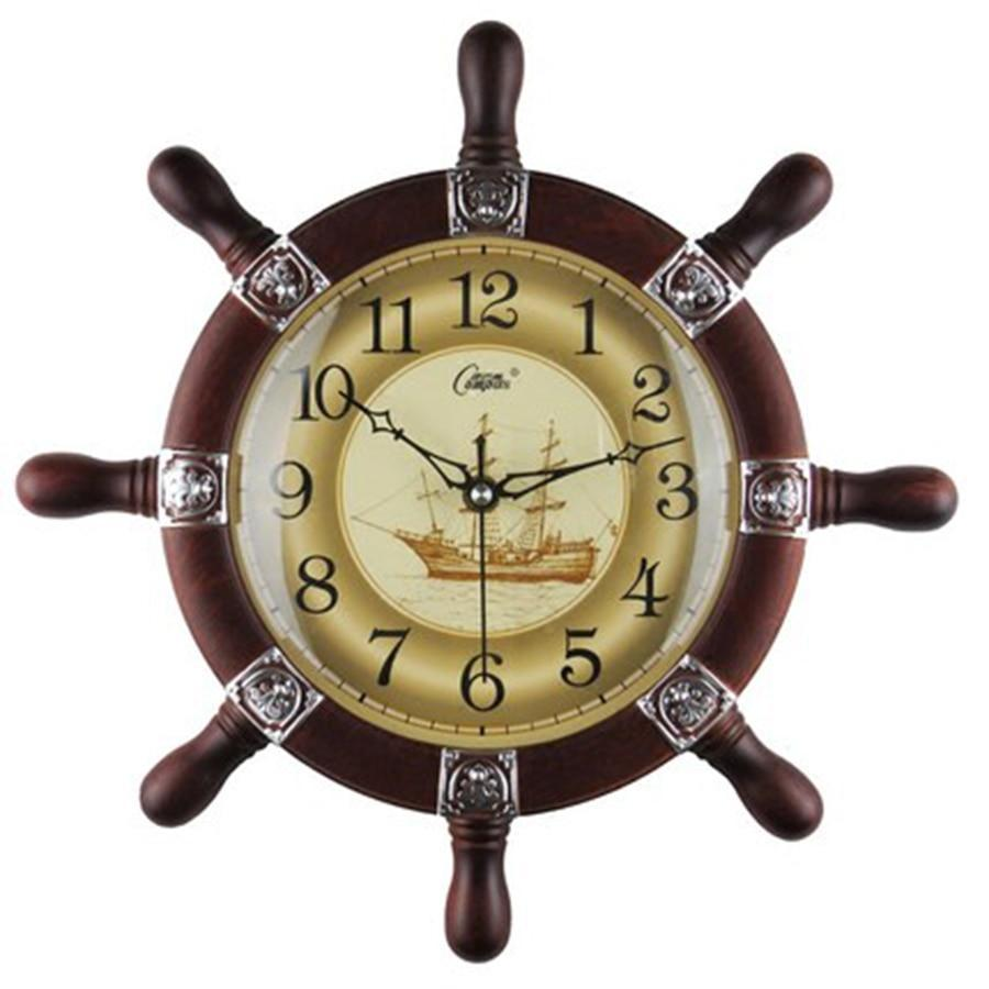 Clock steampunk rudder