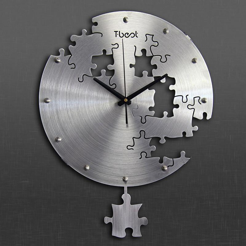 Clock steampunk steel puzzle