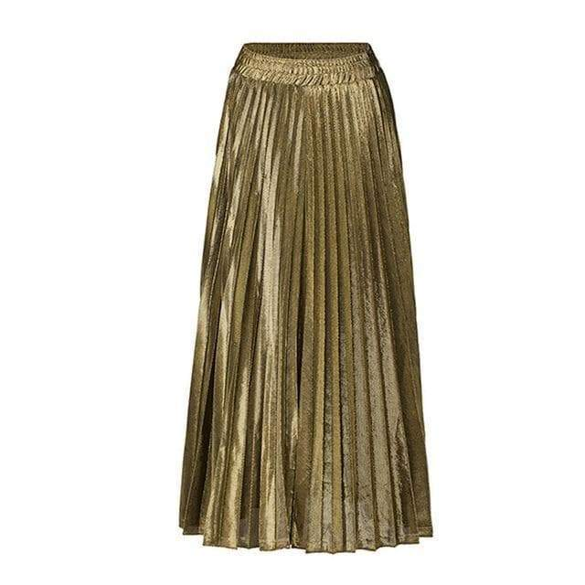 gilded pleated skirt steampunk store Gothic