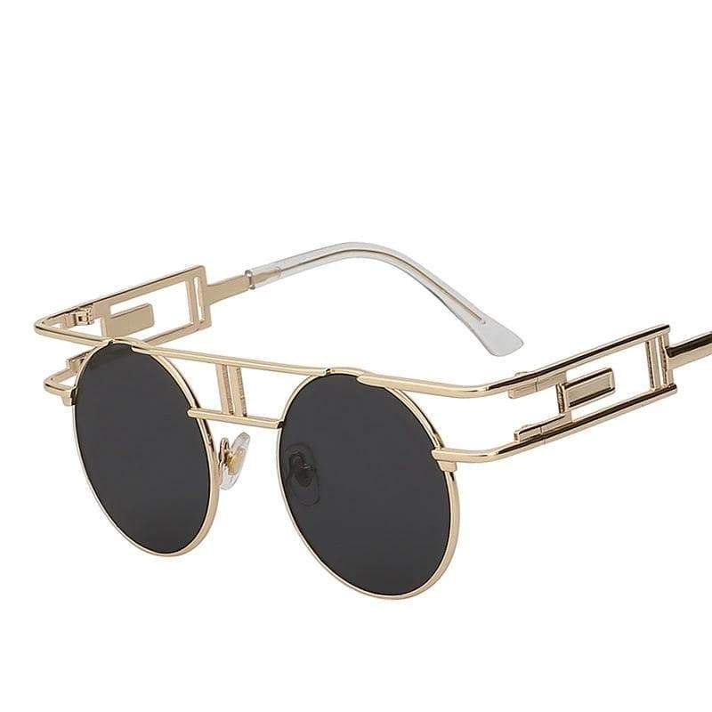 steampunk store double bar sunglasses Gothic