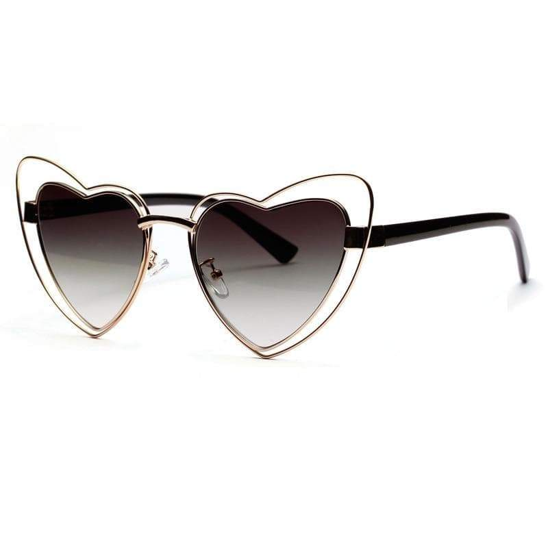 Steampunk heartness glasses