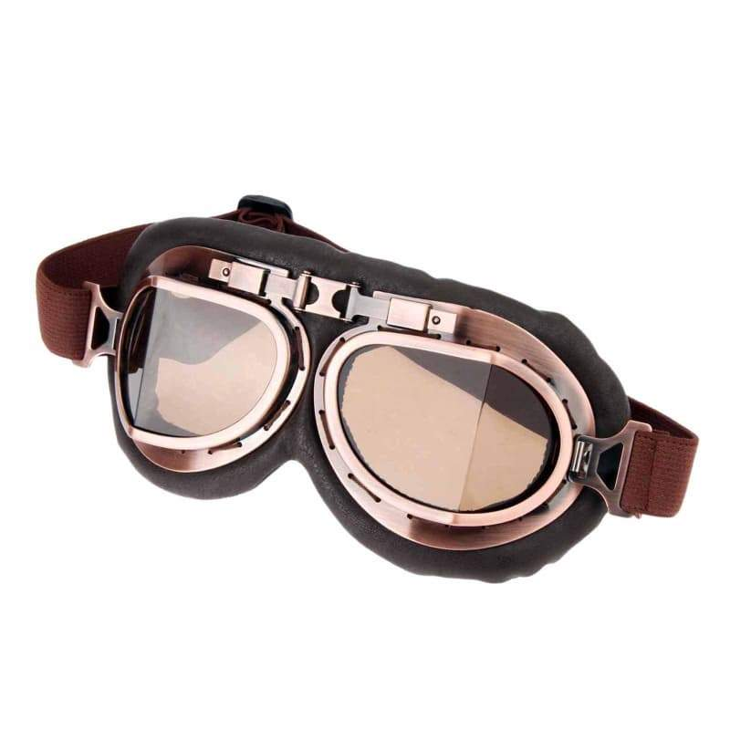 Steampunk vintage motorcycle glasses