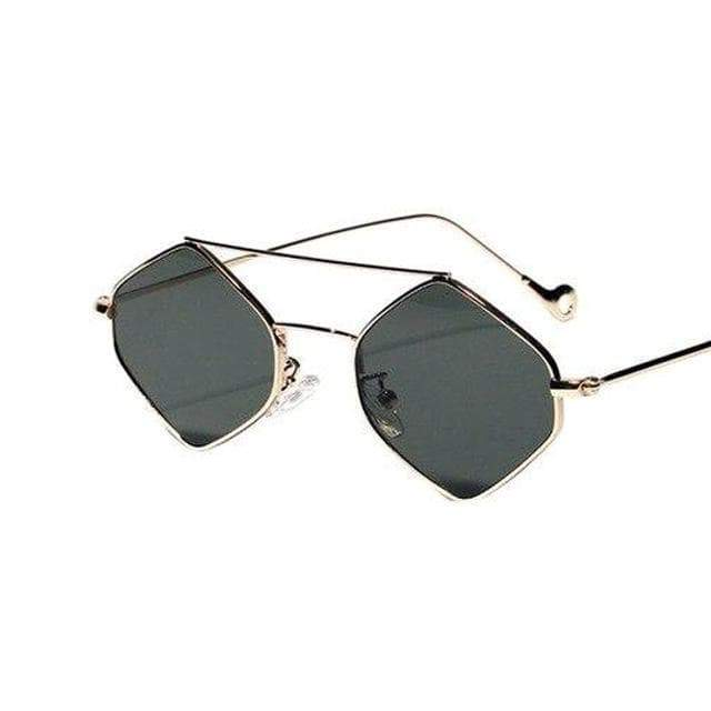 retro women's sunglasses steampunk store mode