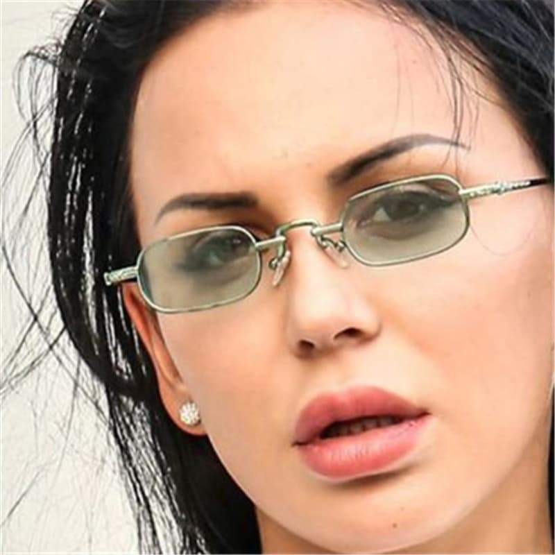 oval glasses for women steampunk store Style