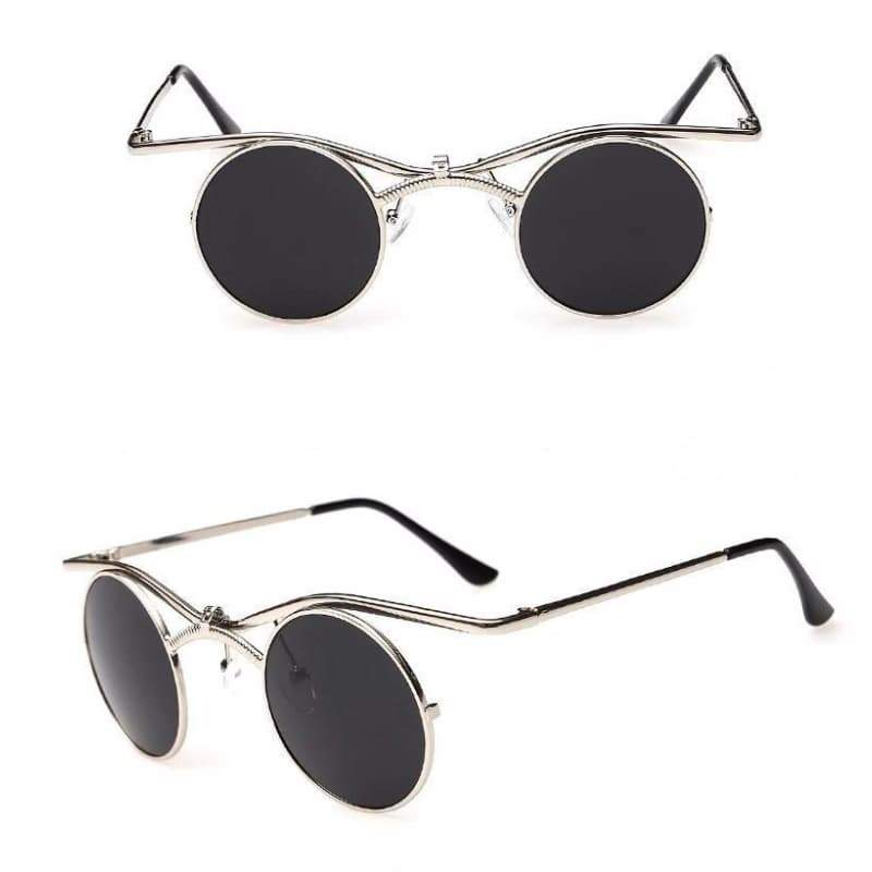 steampunk flip up glasses mode