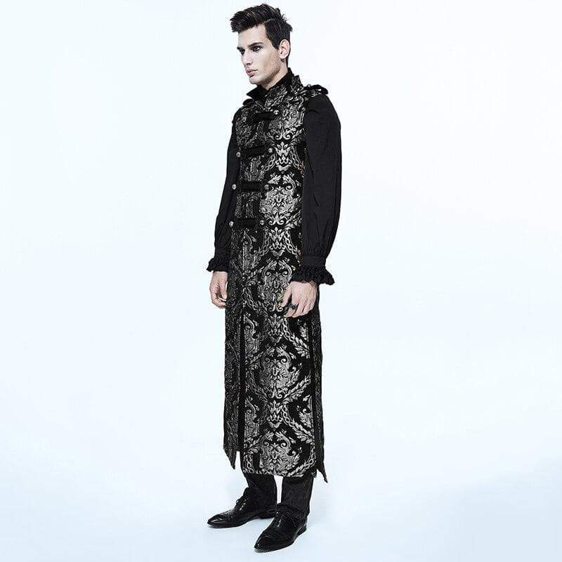 manteau long homme steampunk cosplay