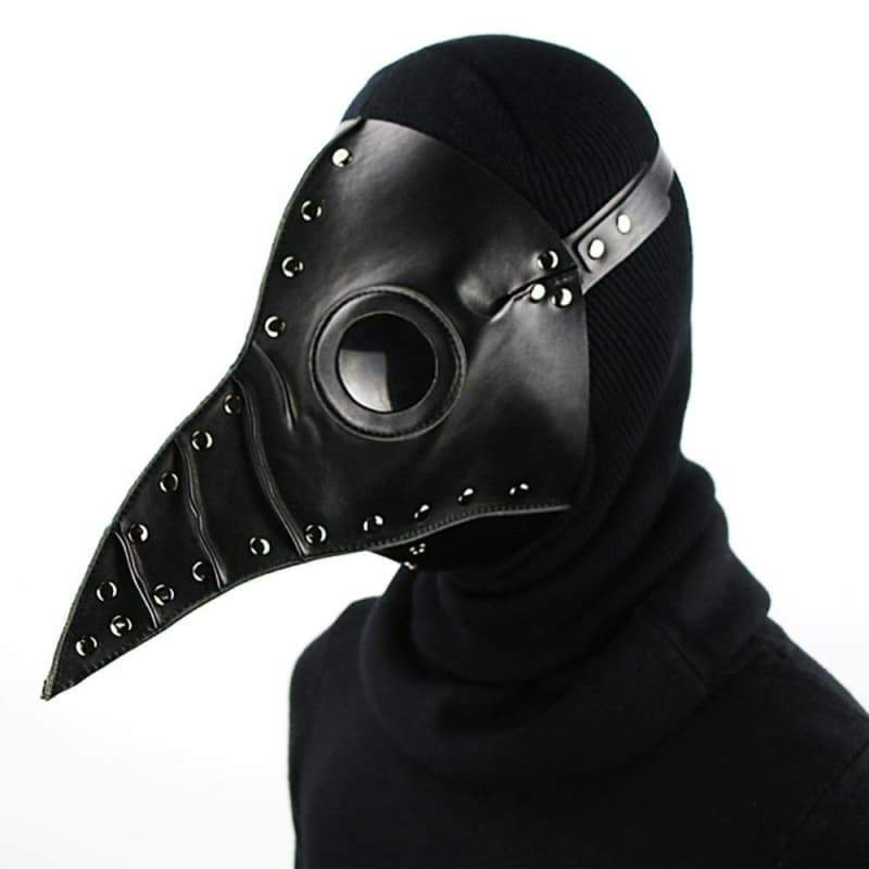 Steampunk mask plague doctor