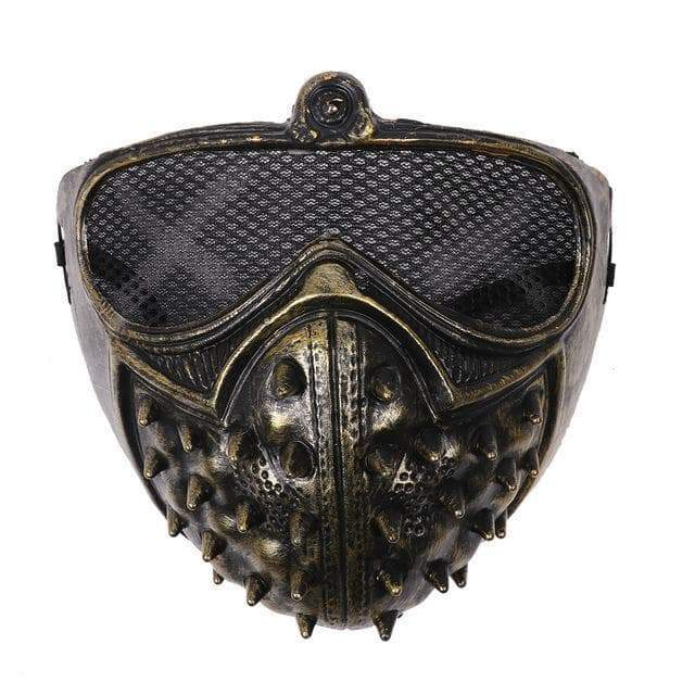 Steampunk mask post apo