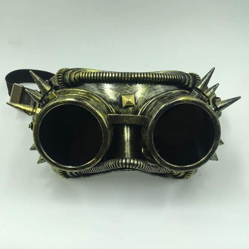 Steampunk welding mask